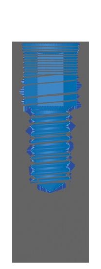 Impianto conico R Estetico Inthex Matrix Bioservice