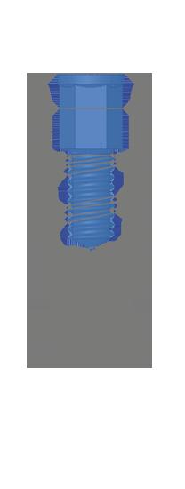 disegno tecnico impianto SL Matrix implant system Bioservice