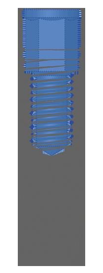 Impianto conico R Thunder Inthex Matrix Bioservice