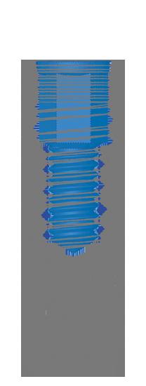 Impianto cilindrico Y estetico Inthex matrix Bioservice