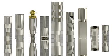 Implantologia dentale protesi impianti dentali sistema implantare Matrix - conex analogico